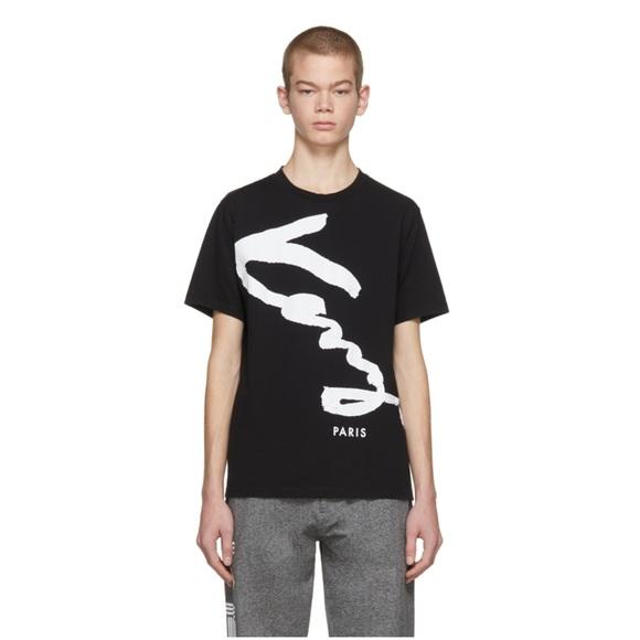 Black Signature Black Nwt Kenzo Nwt Kenzo Tshirt Kenzo Tshirt Black Signature EH9D2I